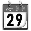 Comienzo de curso, 29 de octubre